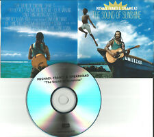 MICHAEL FRANTI & SPEARHEAD Sound of Sunshine DIFFERENT PACKAGING ADVNCE PROMO CD