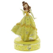 Disney Princess Jewelled Trinket Box - Belle (Beauty & Beast) in Gift Box
