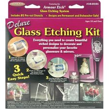 Armour Products 10-0101 Deluxe Glass Etching Kit NEW