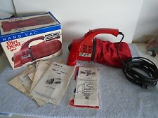 Vintage Dirt Devil Royal 103 Hand Held Vacuum Cleaner In Box w Manual USA Made