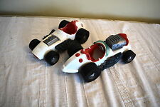 PAIR OF GHOSTBUSTERS ECTO 500 VINTAGE CAR VEHICLES KENNER 1980s /SPARES