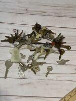 Vintage Misc Lot of 65+ Keys - Ford, Keil, National, Chrysler, Hale