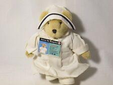 MUFFY VANDERBEAR HEAD NURSE DRESSED MERCY ME HOSPITAL 1996 W TAG