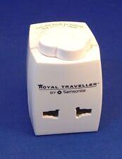 ROYAL TRAVELLER SAMSONITE WORLDWIDE POWER ADAPTER PLUG US UK NZ EUROPE AUSTRALIA