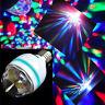 RGB Kristallkugel rotierenden LED Bühne Glühbirnen Disco Party Birne Lampe sYT