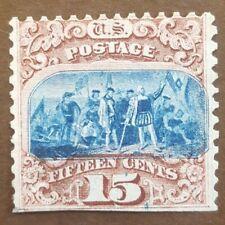 US #118 type I. Rare Mint example. Fresh & clean. Scott $3,250.