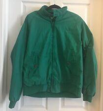 American Eagle Wind Breaker Plaid Lined Jacket Vintage Mens Sz XL Rare