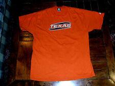 University of Texas Longhorns XL Starter 100% Cotton T-Shirt Burnt Orange NCAA