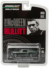 Greenlight 1968 Ford Mustang GT Bullitt Steve Mcqueen 1:64 Green 44721