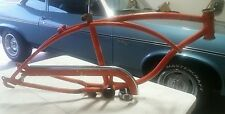 1968 SCHWINN STINGRAY ORANGE KRATE 5 SPEED FRAME WITH CHAIN GUARD ORIGINAL PAINT