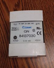 CROUZET 84137030 SOLID STATE RELAY *NEW*