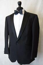 Men's New Racing Green Black Tuxedo Dinner Suit 44L W40 L31 AA2902