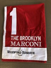 MARCONI WINNING BROOKLYN SADDLE CLOTH BELMONT STAKES UNDERCARD