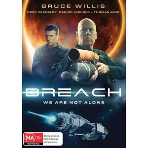 BREACH : NEW DVD