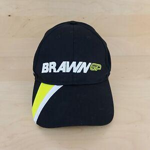 BRAWN GP F1 FORMULA ONE GRAND PRIX RACING HENRI LLOYD BLACK BASEBALL CAP