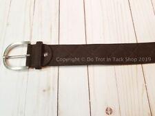 Tailored Sportsman Quilted Clarino C Belt - Brown