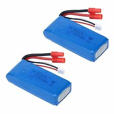 USA Stock 2PCS 25C 7.4V 2000mAh Li-Po Battery for Syma X8C X8W X8G RC Quadcopter