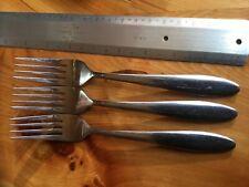 Oneida  Stainless Mooncrest Glossy  Set 3 Dinner Forks