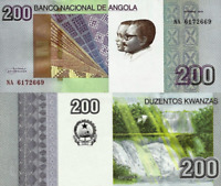 ANGOLA 5000 KWANZAS 2012  P 158 SPECIAL OFFER 6RW 27MAR VF-XF CONDITION