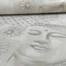 ARTHOUSE ENLIGHTEN FLORAL PATTERN BUDDHA MOTIF GLITTER WALLPAPER ROLL