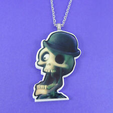 Bonejangles cadáver de la novia Collar de Tim Burton Goth Escena Esqueleto Punk Zombie