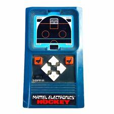 New ListingVintage 1978 Mattel Electronics Hockey Handheld Portable Game Tested Working