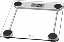 Clatronic PW 3368 - Báscula de baño digital de cristal, medición 150 kg /100 g
