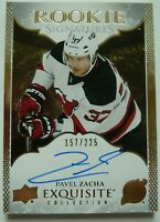 2016-17 Upper Deck Exquisite Rookies Signatures 157/225 Pavel Zacha