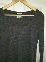Womens TOMMY HILFIGER t shirt. Long sleeve. Grey. Size XL