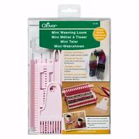 Clover Mini Weaving Loom Instruction Included Fringed Knitting Craft Simple Easy