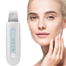 Facial Cleaner Ultrasonic Skin Scrubber Spatula Extractor Face Peeling Deep Tool