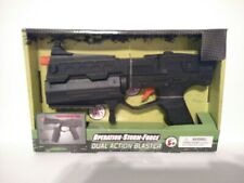 Toy Gun Military RETRO dual Action Blaster movable handle NEW WITH sound