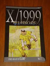 X/1999 RHAPSODY VOL 7 SHOJO EDITION MANGA CLAMP VIZ GRAPHIC NOVEL