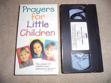 CCC Of America Catholic VHS Prayers For Little Children 1998 Video Church Kids