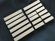 Beautiful High Polished Mosaic Striped Tiles-Make Your Own Border Tiles