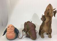 Star Wars 1997 Kenner Tatooline Ron to Creature, Dewback, Jabba the Hutt