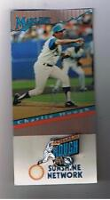 1994 / 1995 Florida Marlins Stadium Giveway Pin Charlie Hough