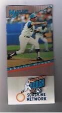 1995 Florida Marlins Stadium Giveway Pin Charlie Hough
