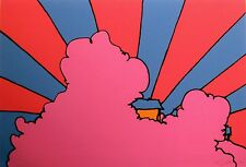 """Peter Max """"House in the Clouds"""" Signed Numbered Serigraph pop art MAKE OFFER!"""