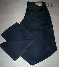 WRANGLER Jeans Texas Old Blue Black Equitazione W33 L31