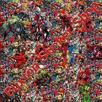 Marvel comics Stickers Bomb sheet Euro  Vinyl Decal vw  vauxhall honda Dub wrap