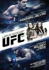 UFC 168: LEAVE NO DOUBT - WEIDMAN VS SILVA 2 / ROUSEY VS TATE
