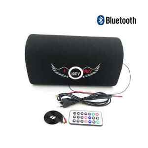 5 Inch Car Audio Active Bluetooth Speaker Home Theater Boom Box Bass Subwoofer