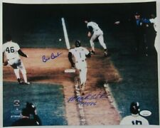 MOOKIE WILSON / BILL BUCKNER SIGNED AUTOGRAPH 16x20 photo W/ JSA CERT