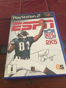 PS2 GAME ' ESPN NFL 2K5 ' American Football No Manual Pal - Tested Playstation