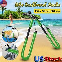 Surfboard Wakeboard Rack Bicycle Bike Surfing Board Carrier Mount Holder Clamp