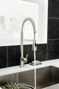 Moen 5923SRS Align One-Handle Pre-Rinse Pulldown Kitchen Faucet Spot Resist