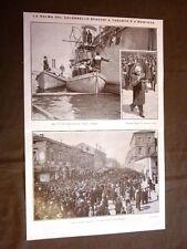Morte del Colonnello Benzoni La salma a Taranto e a Mantova per il funerale