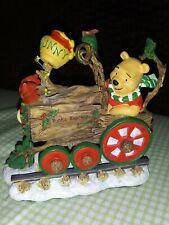 Winnie The Pooh Christmas Holiday Train Disney Danbury Mint 5 Piece set