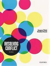 Resolving Conflict by Gregory Tillett, Brendan French (Paperback, 2009)